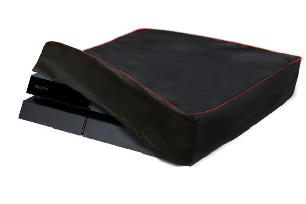 Beispiel einer Schutzhülle für eine Spielekonsole